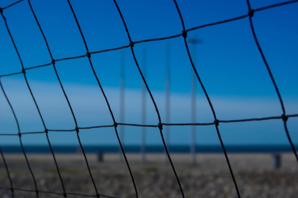 Volleyball Perimeter Netting